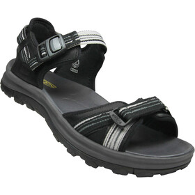 Keen Terradora II Open Toe Leather Sandals Women black/magnet